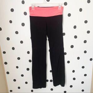 🔥30%OFF🔥EUC 90 DEGREES YOGA PANTS BLACK/PINK XS